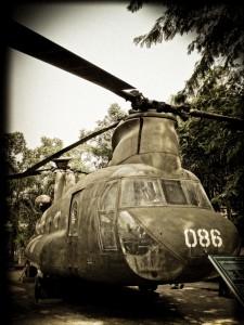 Kriegsgerät aus dem Vietnamkrieg